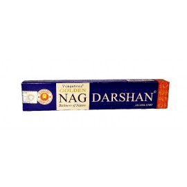 Incienso Golden Nag Darshan caja 15 gr