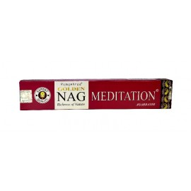 Incienso Golden Nag Meditation caja 15 gr